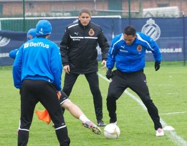 Garrido en CLub Brugge verlengden het contract van de Spaanse trainer tot eind juni 2014.