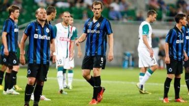 Club Brugge had het niet onder de markt in Polen en druipt af met een nederlaag. De terugwedstrijd belooft fel te worden.
